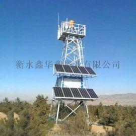 定制20米热镀锌角钢监控塔(厂家直销)