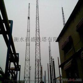 厂家生产供应单管塔消防训练塔仿生树投光塔