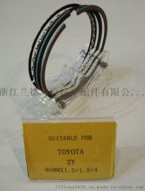 丰田汽车型号活塞环1Y