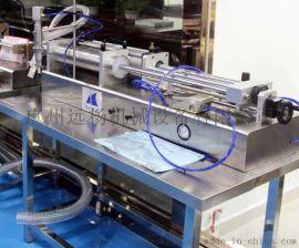 气动高效率液体包装灌装机
