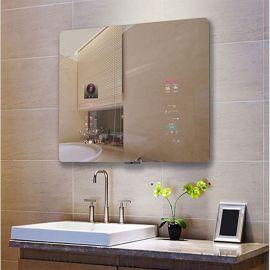 22寸发廊镜面广告机触摸一体机智能魔镜体感浴室镜面