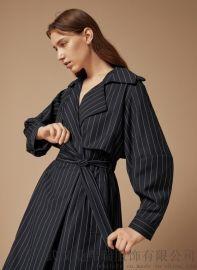时尚女装拿货丽想20年春装新款女式风衣外套