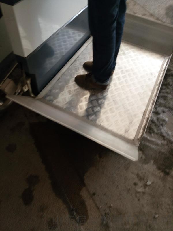 启运唐山市爬楼无障碍设施轮椅自动升降台楼道斜挂电梯