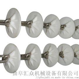 管链输送机配件 不锈钢链输送机 Ljxy 管道链式