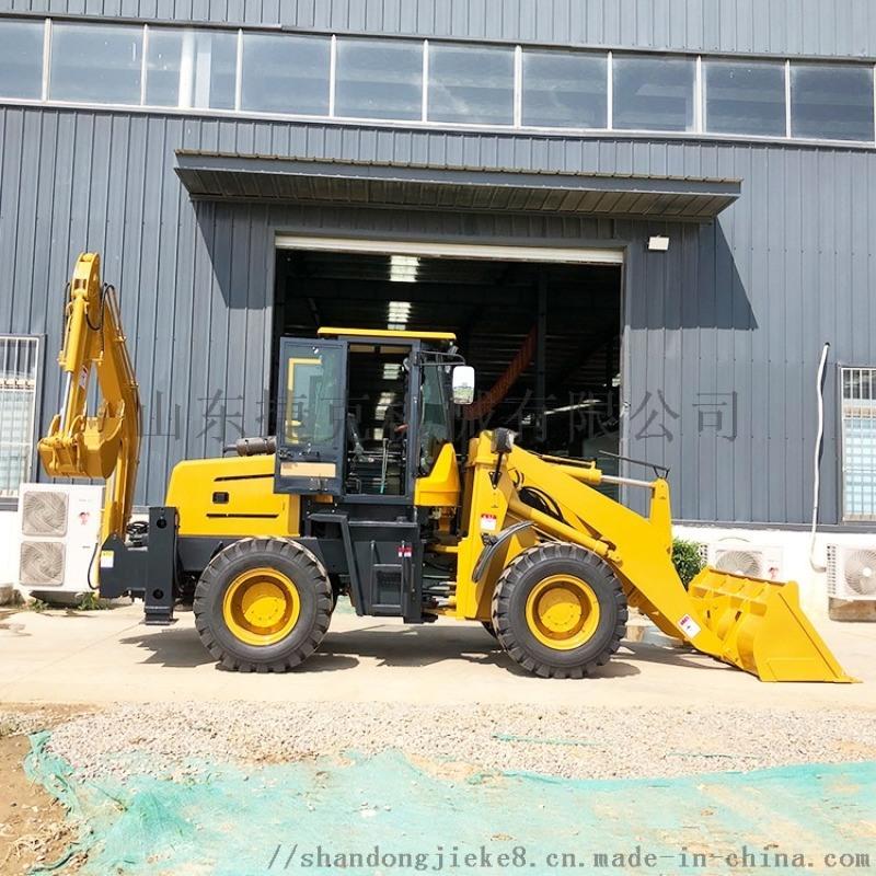 捷克30多功能挖掘裝載機 挖掘裝載機兩頭忙