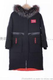 羽绒服女2019冬新款韩版折扣女装轻薄连帽