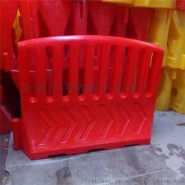 滚塑围栏水马规格 大围栏水马厂家 塑料高围栏围档