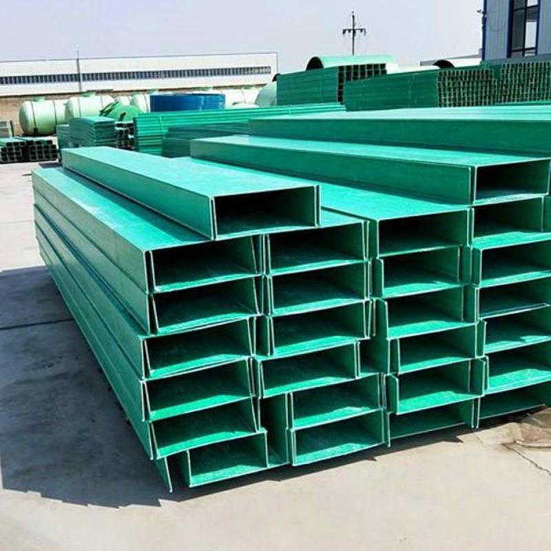 梯级式电缆桥架 扬州玻璃钢机械线缆桥架
