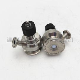 微型取样阀-卫生级无菌取样阀单嘴、无菌取样阀