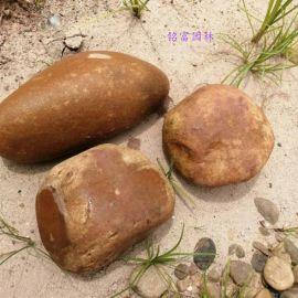黄色河冲石价格 广东河卵石 黄色河卵石批发1