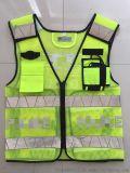 拉鏈式反光衣熒光黃交通安全警示馬甲環衛安全背心