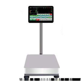 打印通讯彩屏蓝牙多功能可编程PC台秤