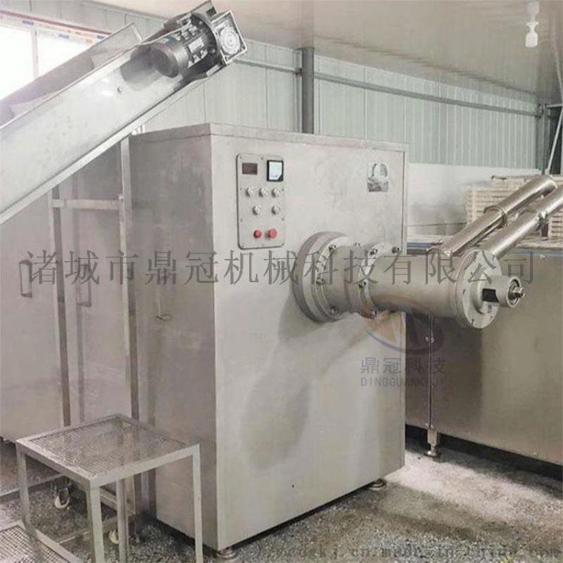 禽类肉泥生产设备 肉泥生产设备 自动肉泥生产设备