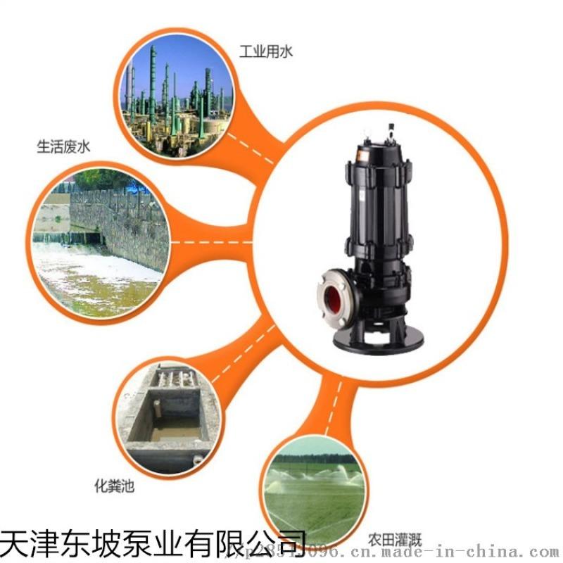 大口徑污水泵 潛污泵 耐高溫污水泵 鉸刀污水潛水泵