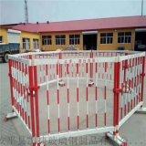 玻璃鋼電力施工護欄玻璃鋼樹脂欄杆伸縮可移動護欄