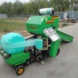 新疆全自动青贮玉米打包机,小型青储打包机