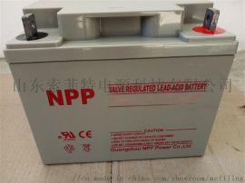 耐普蓄电池NP12-100 12V100AH UPS/EPS/直流屏