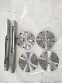 高压蒸汽管道吹扫靶板配件、压兰盖、靶板架产品厂家