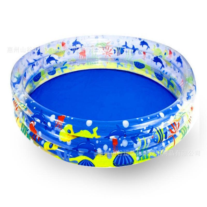 PVC充气儿童水池游泳池儿童泳池小孩戏水池