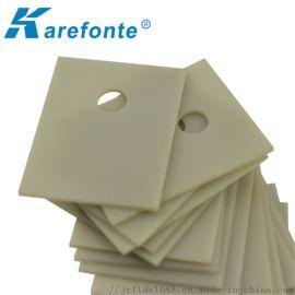 散热垫片17*22厂家直销氮化铝陶瓷片导热绝缘片