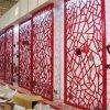 型材方管焊接鋁窗花,復古木紋鋁窗花,鋁合金中式花格