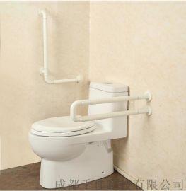 成都残疾人无障碍扶手 卫生间不锈钢马桶扶手卫浴扶手