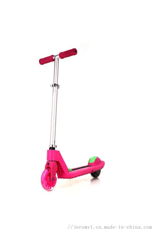 儿童助力电动滑板车