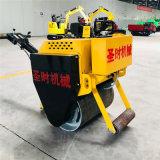 銷售小型手扶式振動壓力機廠家 單鋼輪座駕式壓路機