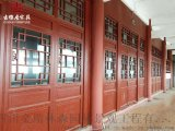 达州仿古门窗实木材质门窗 定制加工直销厂家