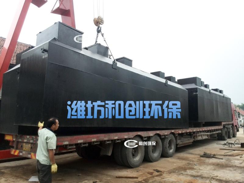 地埋式一体化污水处理设备/MBR处理设备工艺说明