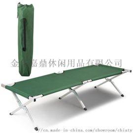 户外休闲野营露营行 床 钢管铝管折叠床