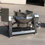 果酱浓缩夹层锅 带搅拌不锈钢夹层锅
