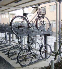 多功能双层自行车停放架