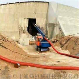 粉料上车自动吸料输送设备仓储煤灰干粉负压环保吸料机