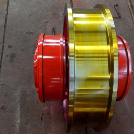500-800双边成套车轮组 行车轮 台车车轮组