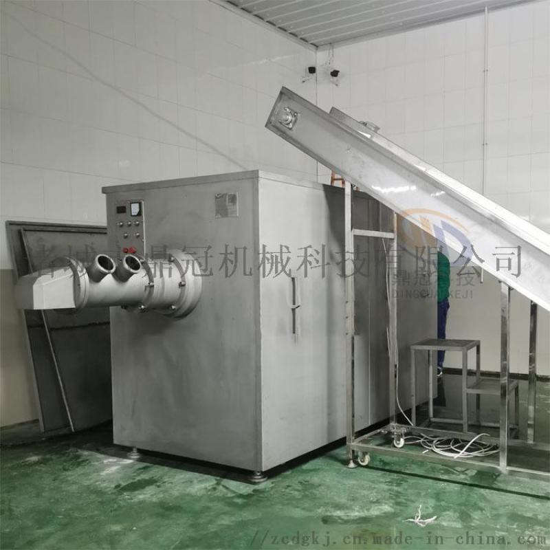 鱼类肉泥生产设备 肉泥生产设备 自动肉泥生产设备