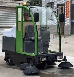 美洁奴驾驶式扫地机全封闭大型电动清扫车