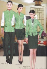 东坡区中式酒店迎宾工作服定制厂家派登服饰