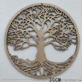 生命之树神圣几何木质挂件