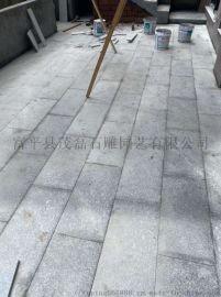 西安市长安区花岗岩石材厂家 铺地路面火烧面石材