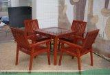 戶外碳化園林桌椅-花園桌椅-酒吧桌椅