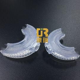德瑞通用U型电动牙刷头替换液态硅胶懒人刷牙神器