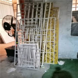 西江仿木纹造型铝窗花 苗寨仿古木纹铝窗花厂家