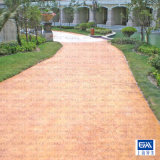 混凝土路面压花做法 新材料新工艺