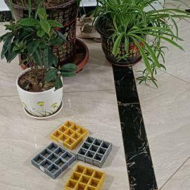 树池篦子格栅板聚氨酯玻璃钢格栅盖板