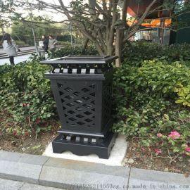 垃圾桶 花园小区时尚优雅景观垃圾桶