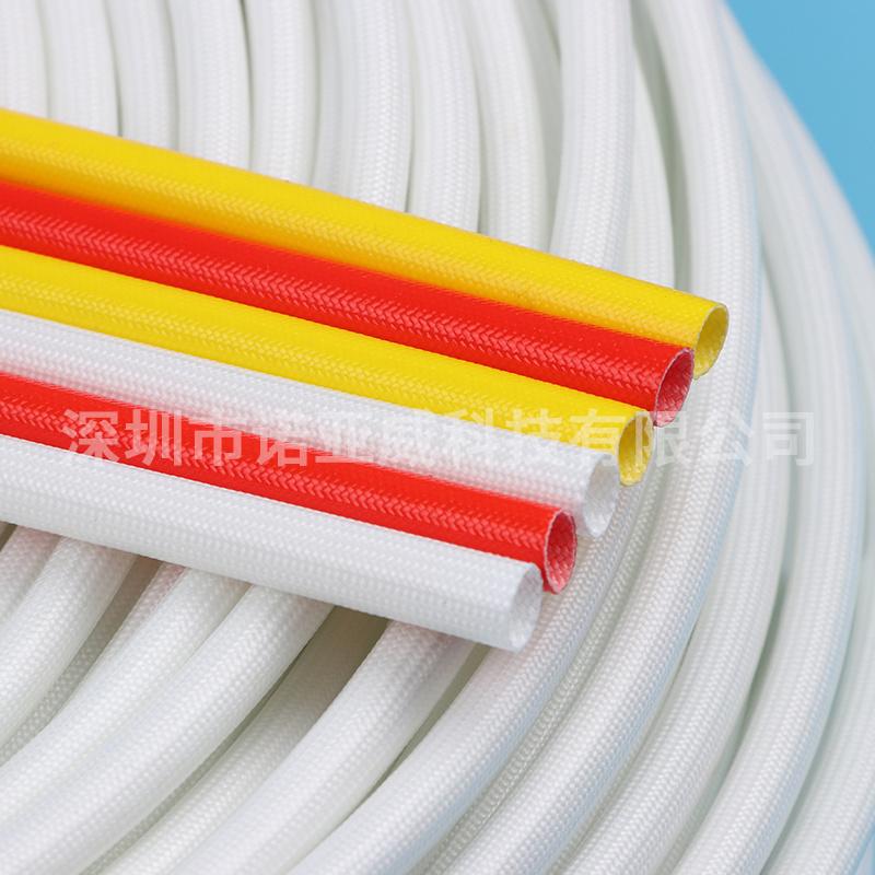 厂家直供纤维管 耐高温200度玻纤管 自熄管