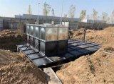 智慧型地埋式装配箱泵一体化简图描述