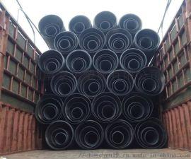 湖南豪企HDPE双壁波纹管塑料排污管  原因