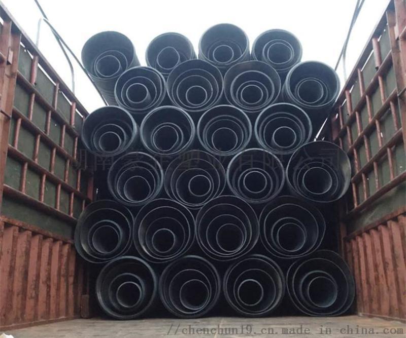 湖南豪企HDPE双壁波纹管塑料排污管热销原因